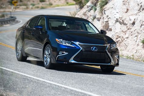lexus es300 hybrid 2017 lexus es 300h hybrid first test review quicker but