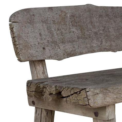 rustic oak bench rustic oak bench at 1stdibs