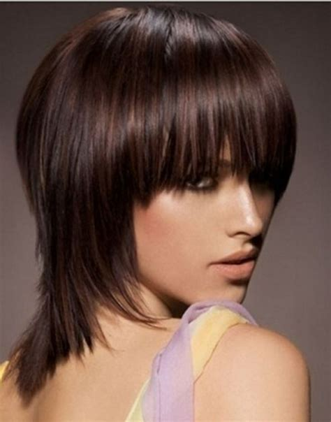 shoulder length hair with layers at bottom 10 best woman s cuts medium images on pinterest hair