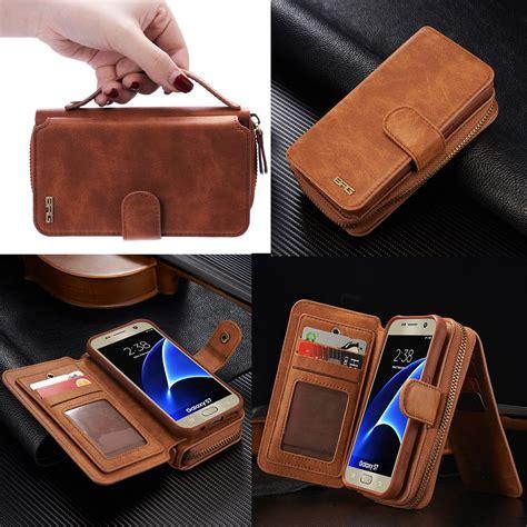 Samsung Note 5 Caseme Multifunction Zipper Leather Luxury Wallet genuine leather zipper multifunction wallet for