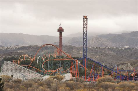 six flags magic mountain six flags magic mountain to offer free admission for food