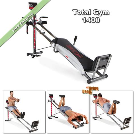 total 1400 home workout fitness equipment exercise
