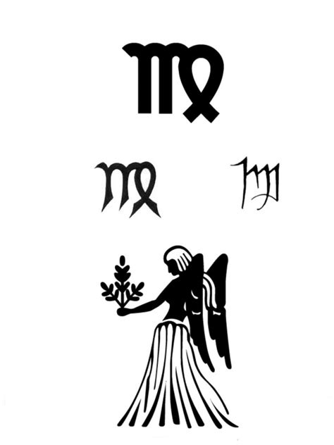 virgo symbol tattoo designs virgo tattoos designs ideas and meaning tattoos for you