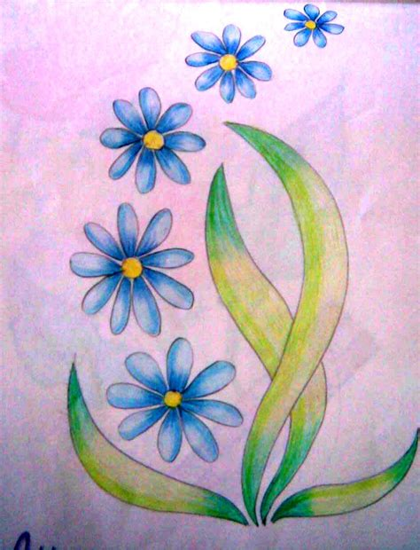 easy colorful drawings simple colored pencil drawings back gt pix for gt easy