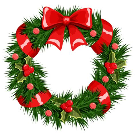 clipart natale free free wreath clip pictures clipartix