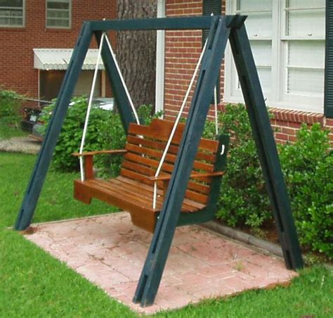 porch swing plans with stand a frame porch swing plans pdf woodworking throughout how