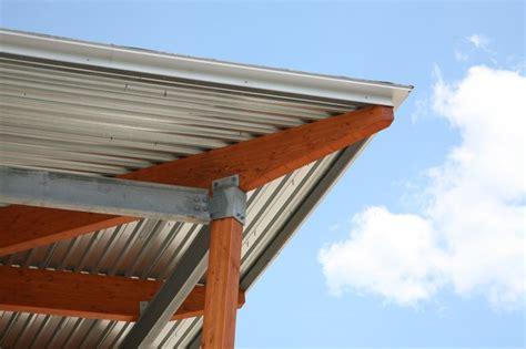 install corrugated roof panels   deck hunker