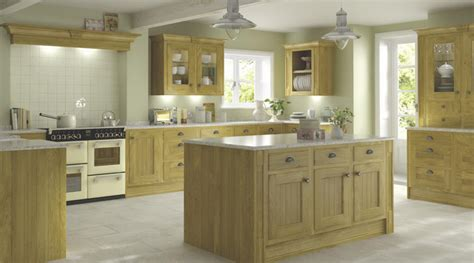 chillingham solid oak style kitchen traditional