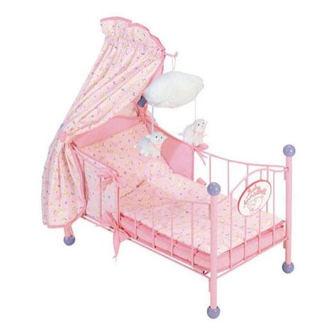 baby annabell swinging crib zapf baby annabell 4 poster kids and family shopping com