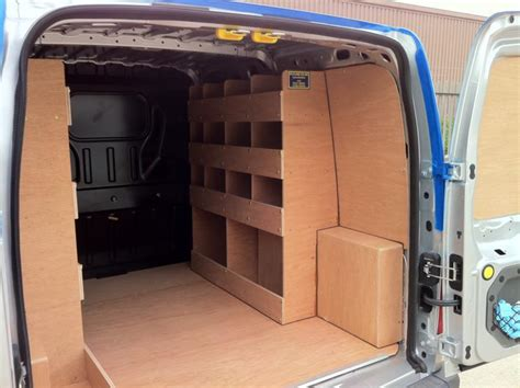 Ford Connect Racking by Plyline Lincs Lining Portfolio Lining