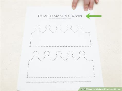 How To Make A Princess Crown Out Of Paper - 4 ways to make a princess crown wikihow