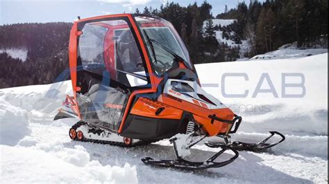 Snowmobile Cabin by Ski Cab The New Cabin For Snowmobile