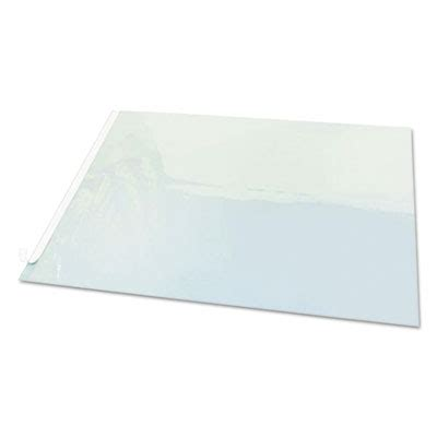 Clear Plastic Desk Pad by Printer