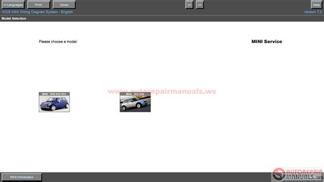 bmw wds v15 and mini wds v7 wiring diagram system auto