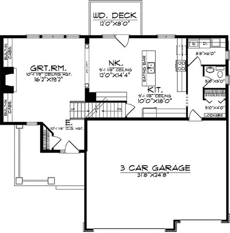 space saving house plans beautiful home plan that is space efficient 8966ah