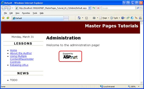 98 Asp Net Master Pages Template All Templates In Sitefinity Admin Motus Free Sharepoint Asp Net Master Page Templates