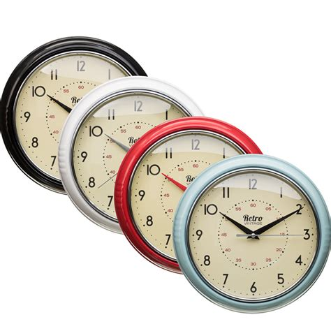 Retro Clock Home Accessories, Clocks,