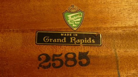 Imperial Furniture Grand Rapids by Is This Imperial Table An Antique