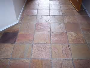 slate stone tile cleaning desert tile grout care