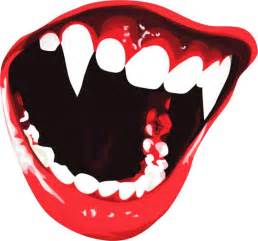 Cool Decals by Cool Vampire Teeth Halloween Vinyl Car Van Laptop Sticker