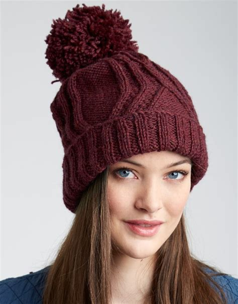 Subtle Version Of The Pom Pom Hat Me Stace by Pom Pom Hats Knitting Patterns In The Loop Knitting