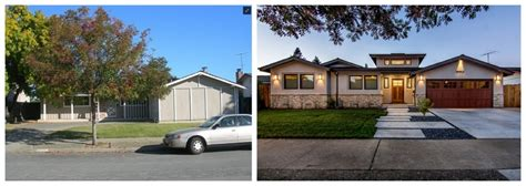 house facade renovation before and after 50 inspirational home remodel before and afters choice home warranty