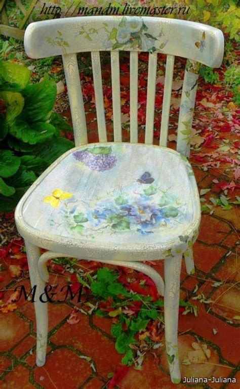 Decoupage Furniture For Sale - best 25 chairs ideas on painting