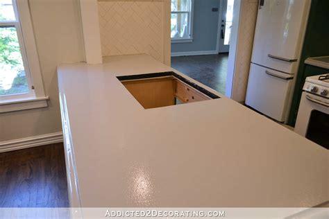 refinishing concrete kitchen countertops part 1