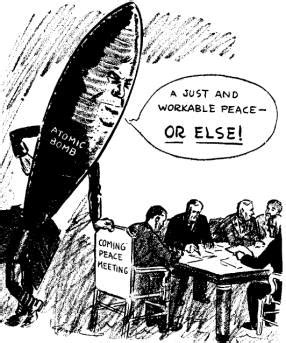 political biography definition from hot war to cold war this cartoon of august 11 1945