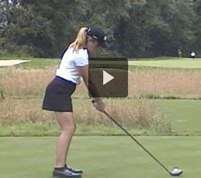 ladies golf swing slow motion paula creamer slow motion driver swing lpga tour http