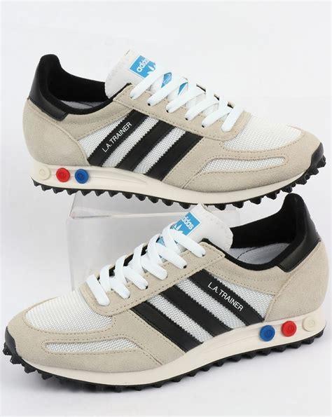 Sandal Adidas Kyaso Black Original Bnib adidas la trainer og vintage white black original runner shoes mens