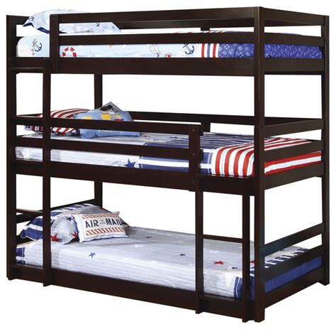 triple bed triple twin bunk bed best home design 2018