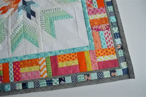 Pieced Quilt Borders by Aviatrix Quilt The Second Border Color Quilts By