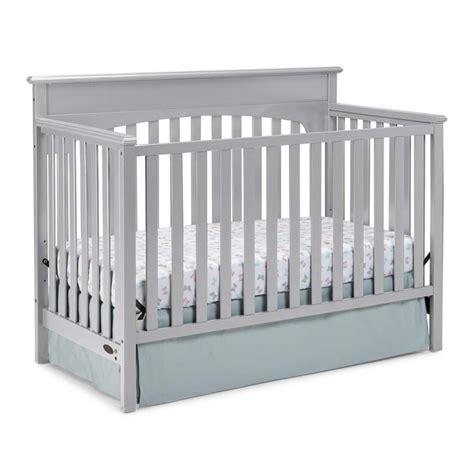 Graco Crib Conversion Rails by Graco 4 In 1 Convertible Crib In Pebble Gray