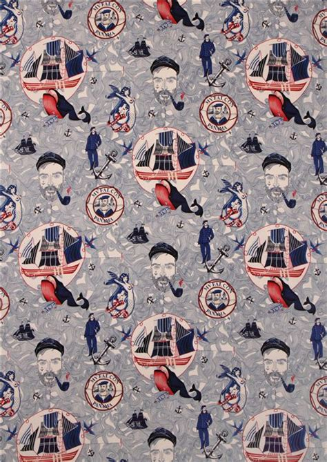alexander henry upholstery fabric lost at sea sailor fabric by alexander henry usa sailor