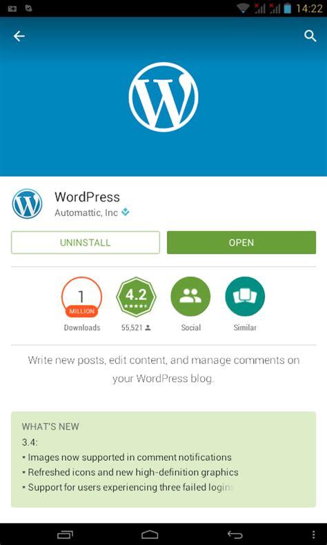 membuat wordpress untuk mobile membuat posting lebih mudah dengan aplikasi wordpress