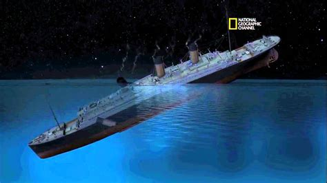 when did the titanic sink national geographic titanic youtube