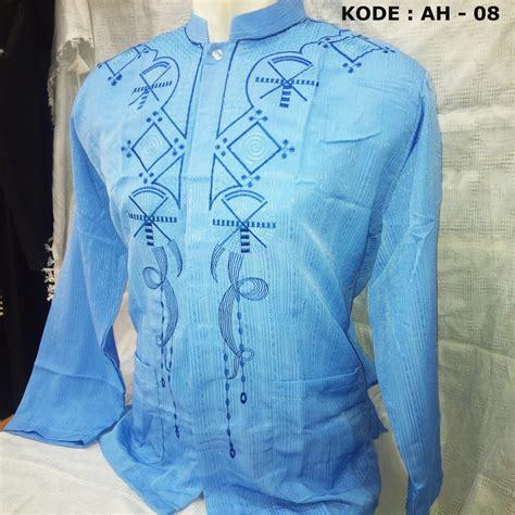 Baju Koko Boboiboy Biru Size L baju koko bordir trendy busanamuslimpria