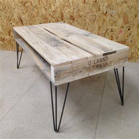 diy table legs wood pallet coffee table hairpin legs pallet furniture plans