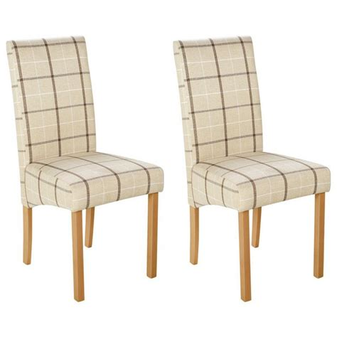 skirted dining room chairs buy heart of house pair of checked skirted dining chairs