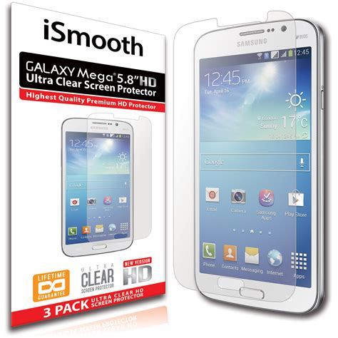 Samsung Galaxy Mega 58 Inch Second ismooth 5 8 inch samsung galaxy mega screen protect