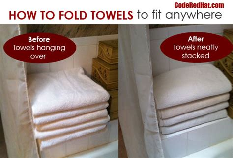 how to fold towels to fit any shelf fold towels towels and spaces