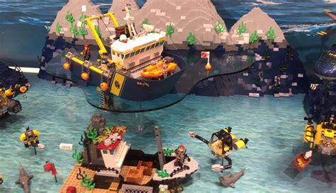 lego boat deep sea lego 60095 deep sea exploration vessel i brick city