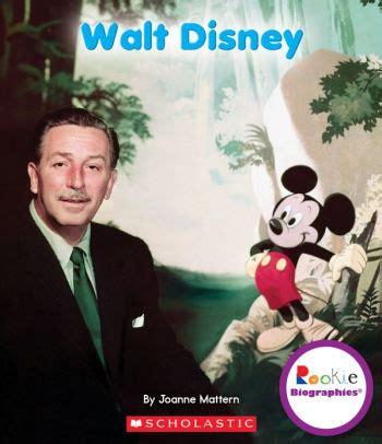biography book walt disney walt disney by joanne mattern paperback barnes noble 174