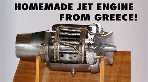 Handmade Engine - jet engine on a glider by panagiotis sofos