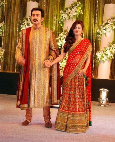 wedding reception dress for kerala bride style
