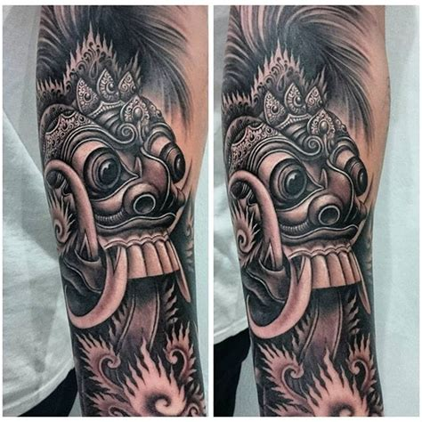 tatoo bali mp3 song barong mask tattoo www pixshark com images galleries