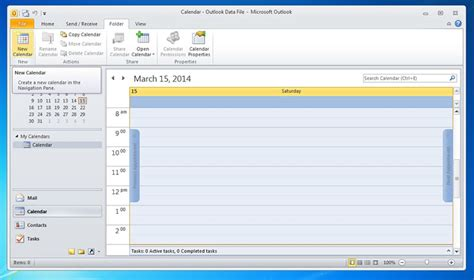 2 Calendars In Outlook 2010 Publishing A Webdav Calendar With Microsoft Outlook 2010