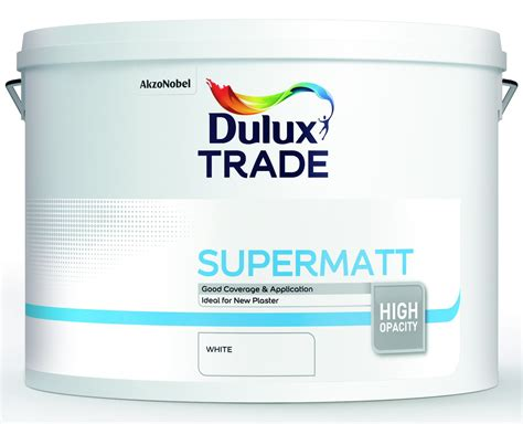 dulux trade supermatt standard colours