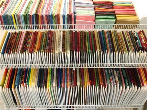 How To Store Quilt Fabric by Store Your Stash And Enjoy The View Cedar Textiles